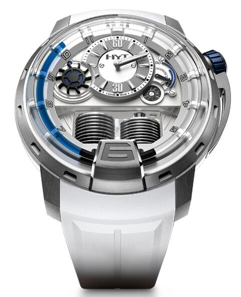Replica HYT h1-iceberg 148-TT-11-BF-RW watch