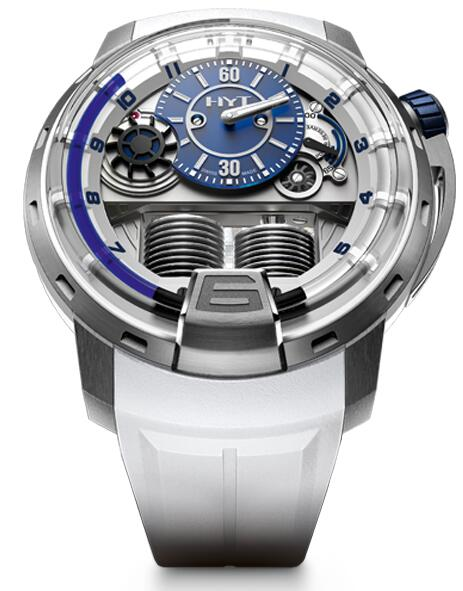 Replica HYT H1 iceberg2 148-TT-21-BF-RW watch