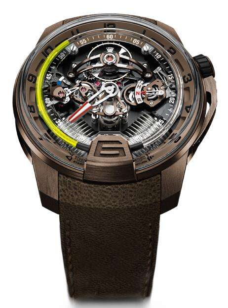 Replica HYT H2 full bronze 248-TB-00-RF-MM watch Price