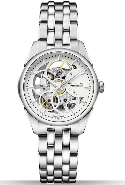 Hamilton Jazzmaster Viewmatic Skeleton Lady H32405111 watch review