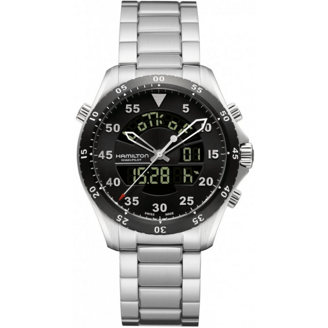 Hamilton Aviation Flight Timer H64554131 replica watch
