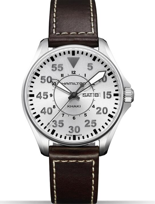 Cheap Hamilton Khaki Pilot Quartz H64611555 watch