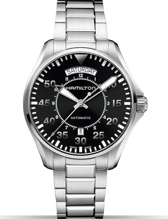 Hamilton Khaki Pilot Day Date H64615135 watches replica