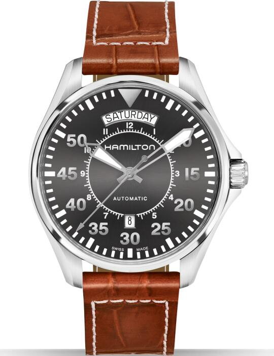 Hamilton replica Khaki Aviation Pilot H64615585 watch