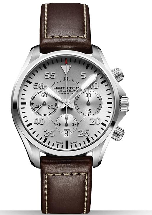Hamilton Khaki Pilot Auto Chrono H64666555 watch review
