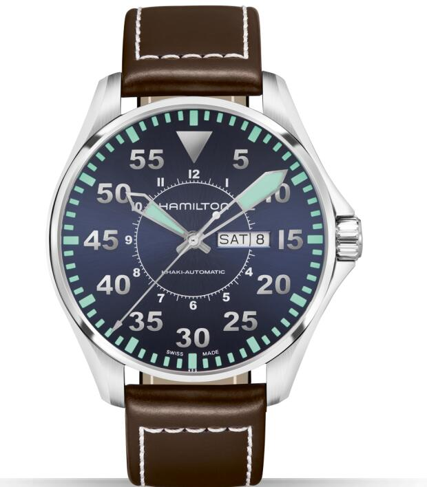 replica Hamilton Khaki Aviation Pilot Men's Watch H64715545