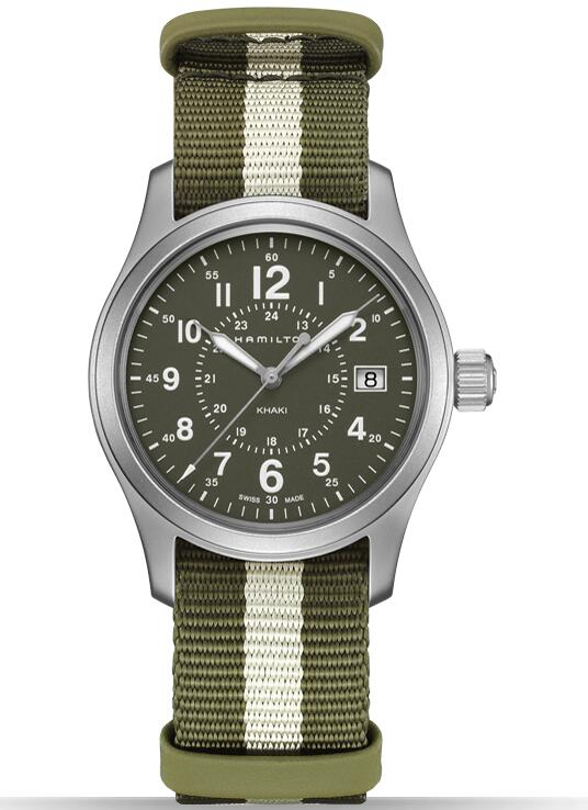 fashion Hamilton Khaki Field Quartz H68201063 watch