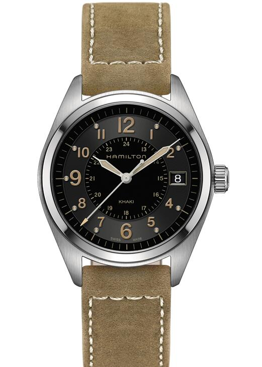 cheap swiss Hamilton Khaki Field Quartz H68551833 watch