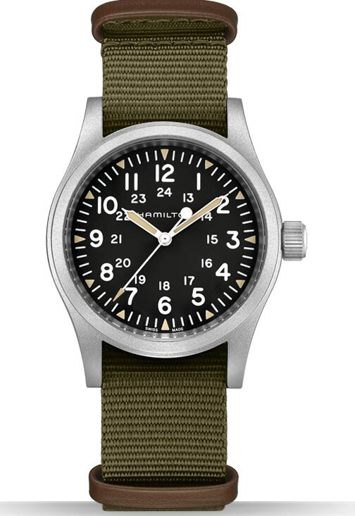 swiss made Hamilton Khaki Field Mechanical H69429931 replica watch