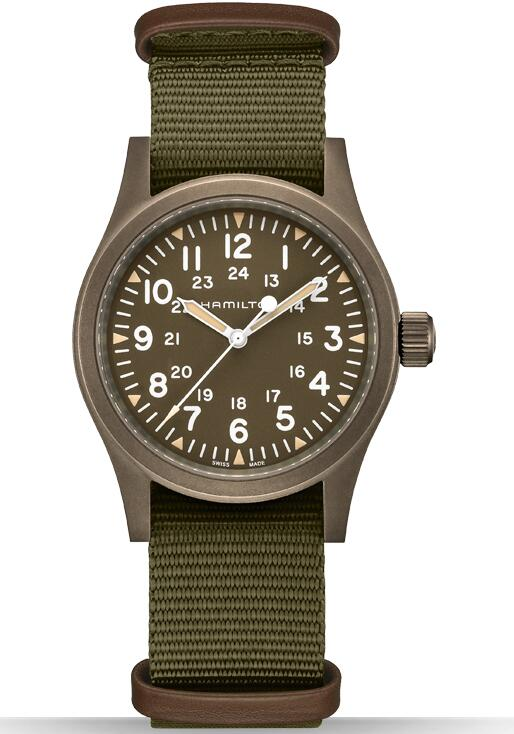 Hamilton Khaki Field Mechanical H69449961 replica watches