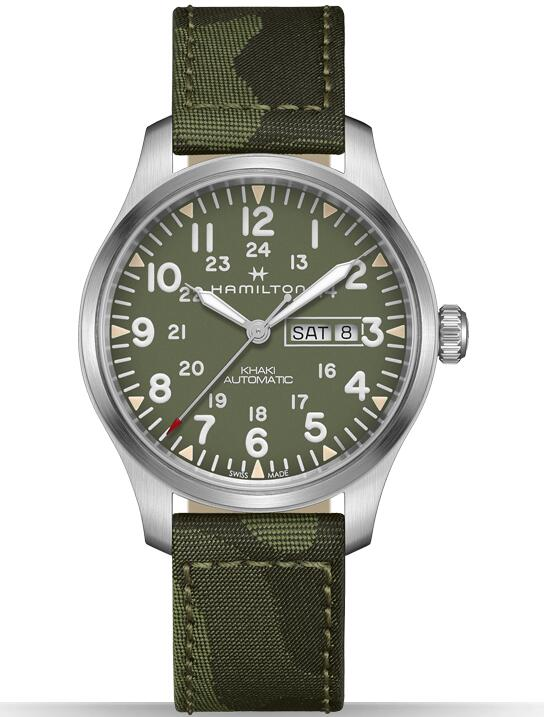 Hamilton Khaki Field Day Date H70535061 watches reviews