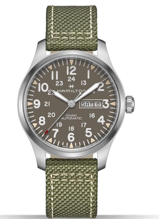 Hamilton Khaki Field Day Date AUTO H70535081 replica watches