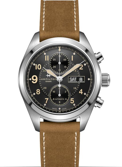 replica Hamilton Khaki Field Auto Chrono H71616535 watch