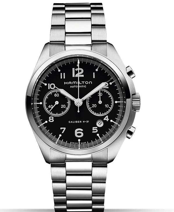 Hamilton Khaki Pilot Pioneer Auto Chrono H76416135 watches review