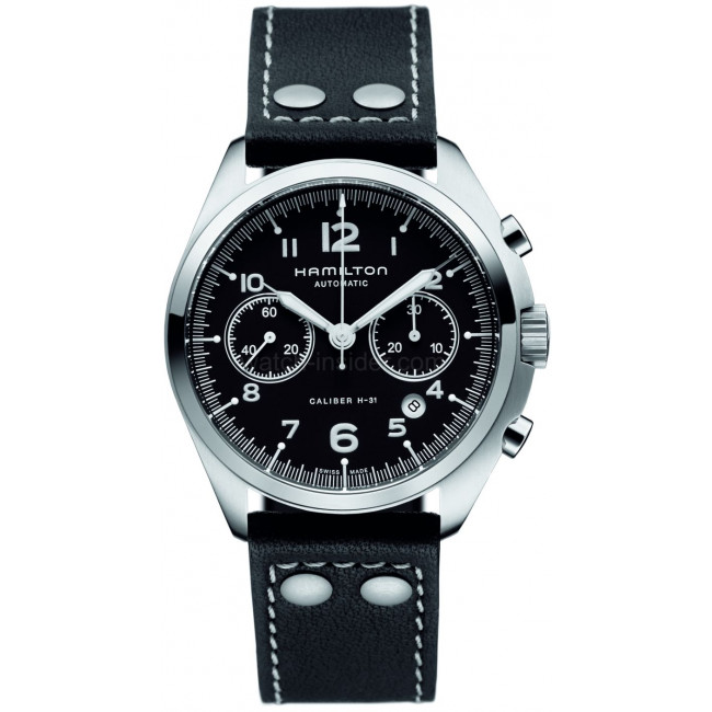 best swiss Hamilton Khaki Pilot Pioneer Auto Chrono H76416735 watches