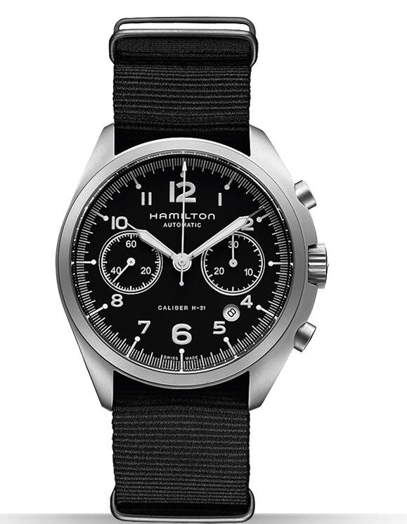 best swiss Hamilton Khaki Pilot Pioneer Auto Chrono H76456435 watches