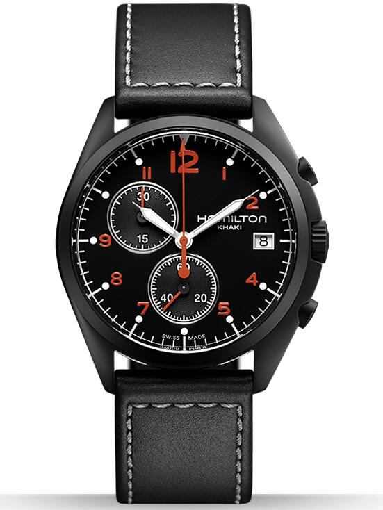 Hamilton Khaki Pilot Pioneer Chrono Quartz H76582733 watches replica