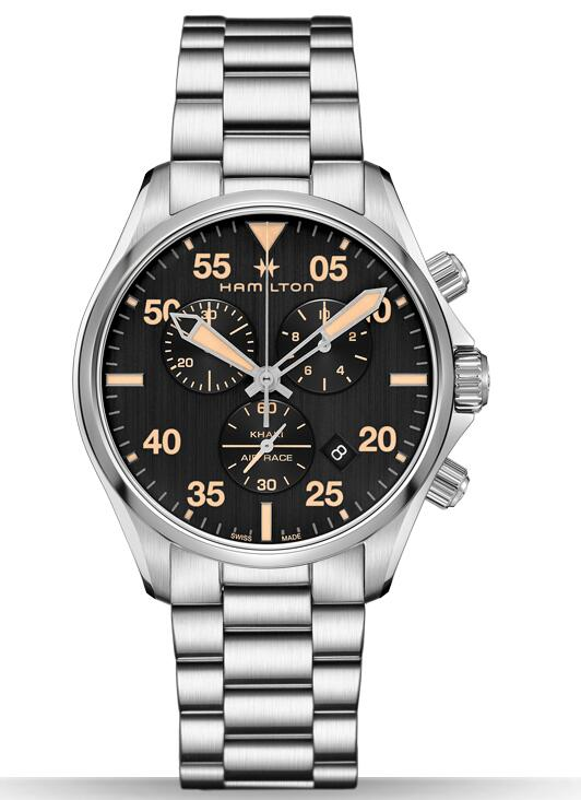 Cheap Hamilton Khaki Pilot Air Race Chrono H76722131 watch