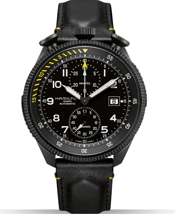 Hamilton Khaki Takeoff Auto Chrono H76786733 Limited Edition replica watch