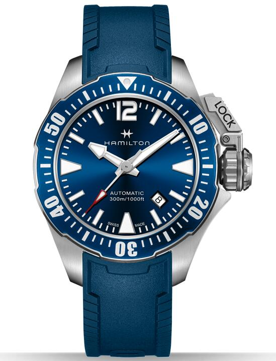 Hamilton Khaki Navy Frogman H77705345 watches men