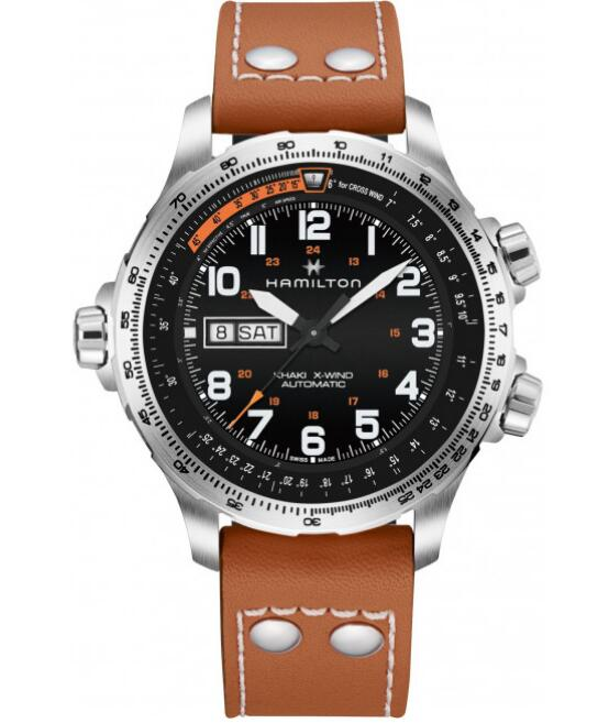 fake Hamilton Khaki X-Wind Day Date H77755533 mens luxury watches