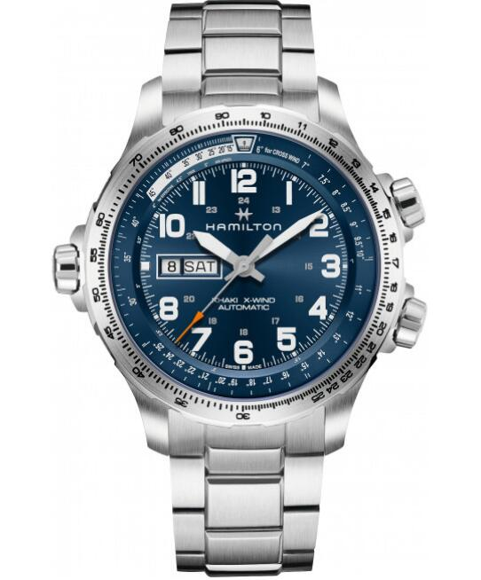 Hamilton Khaki X-Wind Day Date H77765141 watches for sale