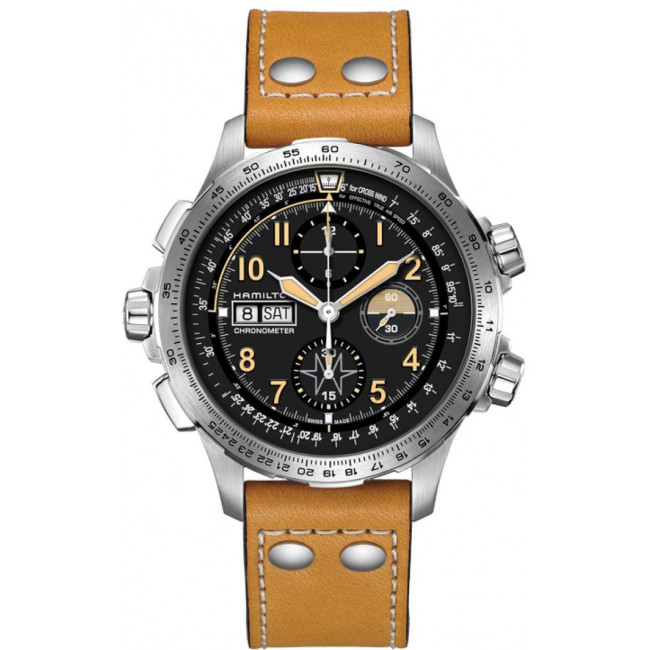Hamilton Khaki X-Wind Chrono H77796535 Limited Edition watches prices
