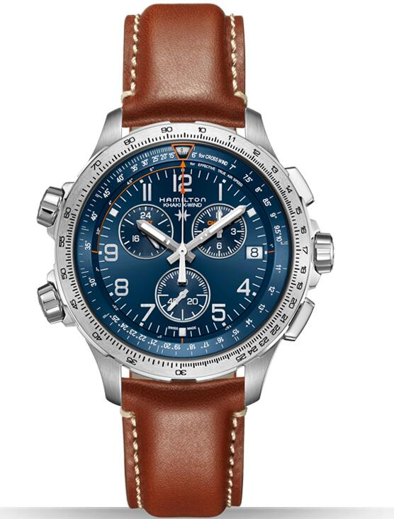 Hamilton Khaki X-Wind Chrono GMT H77922541 fake watch