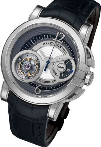 Harry Winston Haute Horology Midnight Chrono Tourbillon Limited Edition 25 MIDMTC42WW002 watch prices