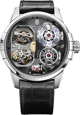Harry Winston Haute Horology Histoire de Tourbillon 8 HCOMDT51WW003 watch replica
