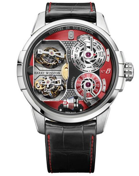 Harry Winston Haute Horology Histoire de Tourbillon 8 HCOMDT51WW004 watch replica