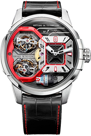 Harry Winston HCOMDT51WW002 Haute Horology Histoire de Tourbillon 7 watch review
