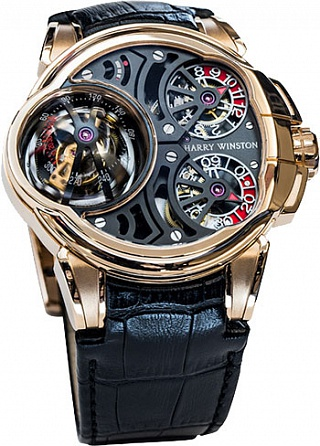 Harry Winston HCOMTT47RR001 Haute Horology Histoire de Tourbillon 5 watch review