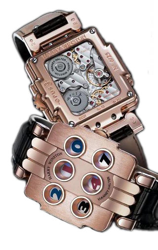 Replica Harry Winston Opus 3 OPUMHD36RR001 best watches