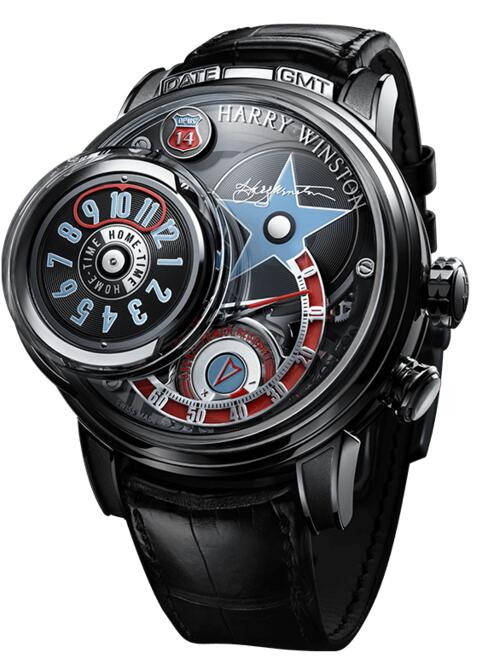 Harry Winston Opus 14 OPUMHM55WW001 watch replica