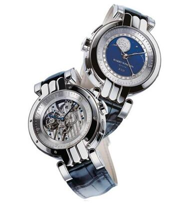 Harry Winston Opus 4 OPUMTR44PP001 watch review
