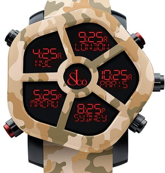 Jacob & Co CARBON CAMOUFLAGE GH100.11.NS.PC.AMQ4D Replica watch