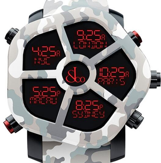 Jacob & Co GH100.11.NS.PC.ANS4D Carbon Camouflage Replica watch