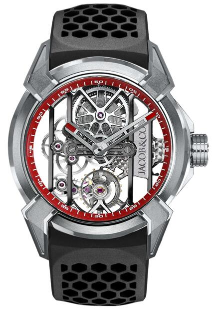 Fake Jacob Co Epic x TITANIUM EX100.20.PS.RW.A watch