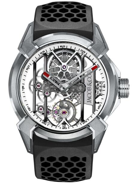 Fake Jacob Co Epic x TITANIUM EX100.20.PS.WB.A watch