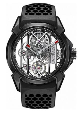 Jacob Co Replica EPIC X BLACK TITANIUM EX100.21.PS.BW.A watch