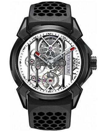 Jacob Co watch Replica EPIC X BLACK TITANIUM EX100.21.PS.WB.A
