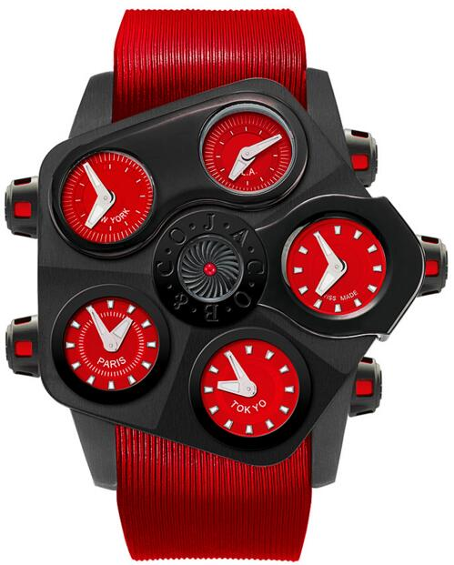 Replica Jacob Co Grand Five Time Zone 330.100.11.NS.KR.4NS watch