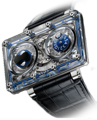 MB & F HM2 Horological Machine No.2 20.DSTL.BL Review