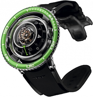 Replica MB F Horological Machine N ° 7 70.TGL.B AQUAPOD Ti Green watch