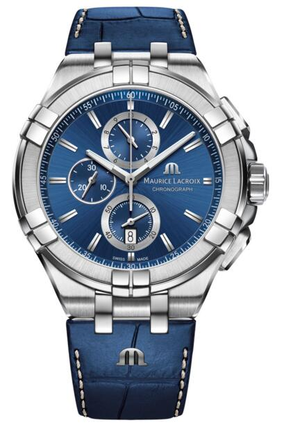 Maurice Lacroix Aikon Chronograph AI1018-SS001-430-1 Replica watch Review
