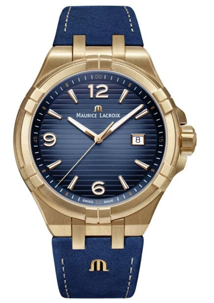 Maurice Lacroix Aikon Replica AI1028-BRZ01-420-1 Bronze Limited Edition watch