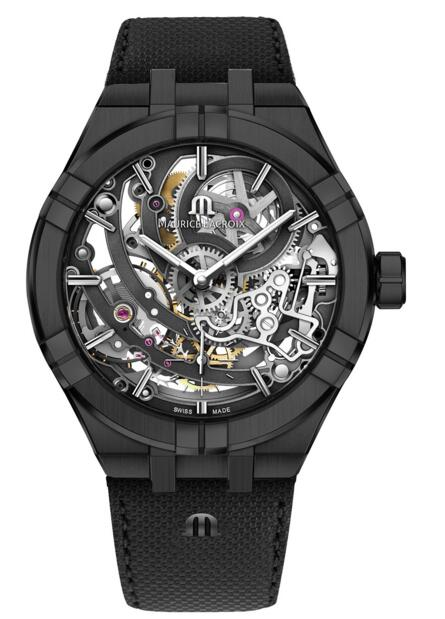 Replica Maurice Lacroix Aikon AI6028-PVB01-030-1 Automatic Skeleton Manufacture 45 mm watch