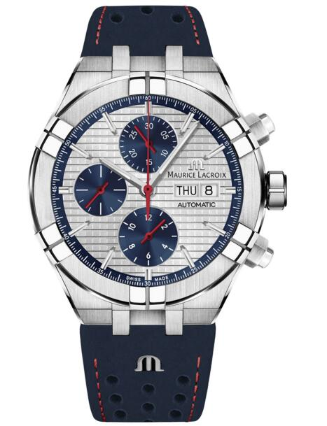 Maurice Lacroix Aikon replica AI6038-SS001-133-1 Automatic Chronograph Limited Edition 44 mm watch Review