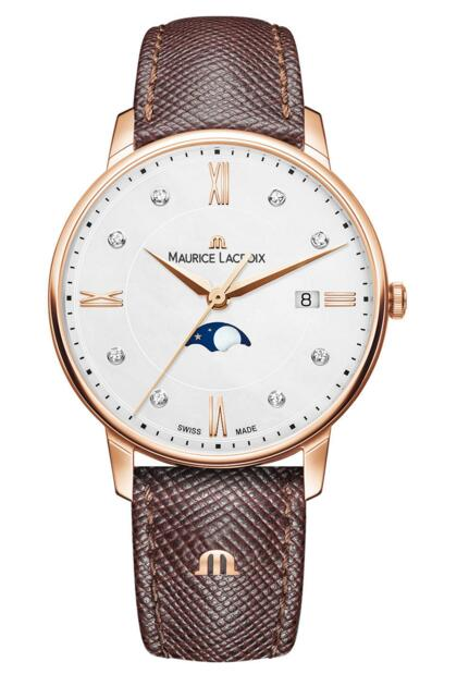Maurice Lacroix Eliros Moonphase EL1096-PVP01-150-1 mens watch sale